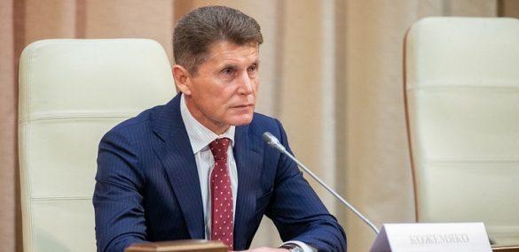 Губернатор Приморья Олег Кожемяко возглавил рабочую группу Госсовета по туризму и спорту,