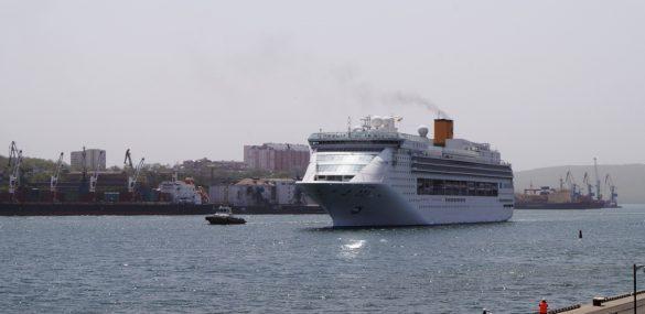 Владивосток готовится поставить несколько рекордов в приемке круизных лайнеров