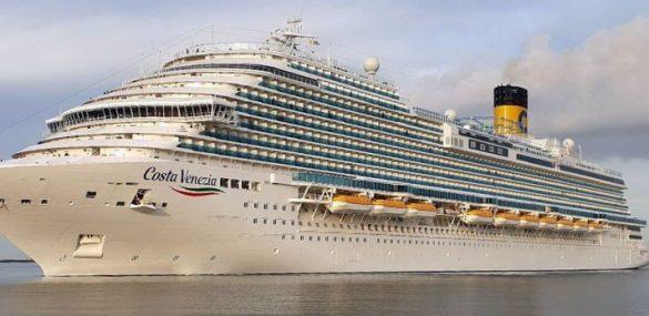 Новый круизный лайнер люкс-класса Costa Venezia станет отелем для гостей ВЭФ во Владивостоке