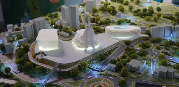 Будущий музейный комплекс на Орлиной сопке во Владивостоке сменил свой облик