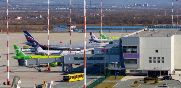 Международный аэропорт Владивосток демонстрирует высокие показатели