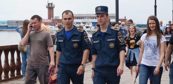 Туристическую полицию ждут на улицах Владивостока уже в апреле